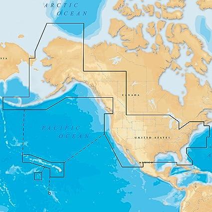 Amazoncom Navionics NAVMSDXG Gold All USA And Northern - Map usa bahamas