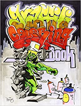 graffiti coloring book - Graffiti Coloring Book