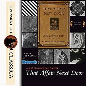 That Affair Next Door Audiobook