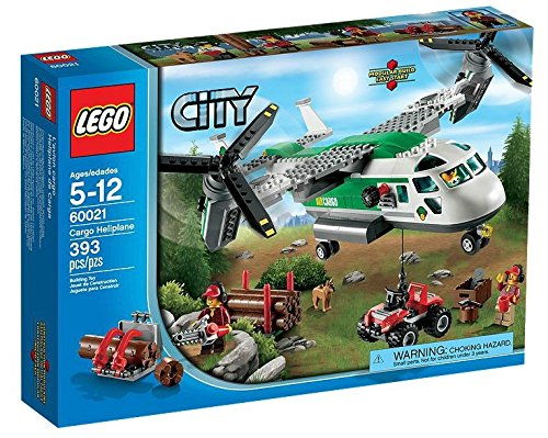 LEGO® CITY® Cargo Heliplane & ATV Quadbike with