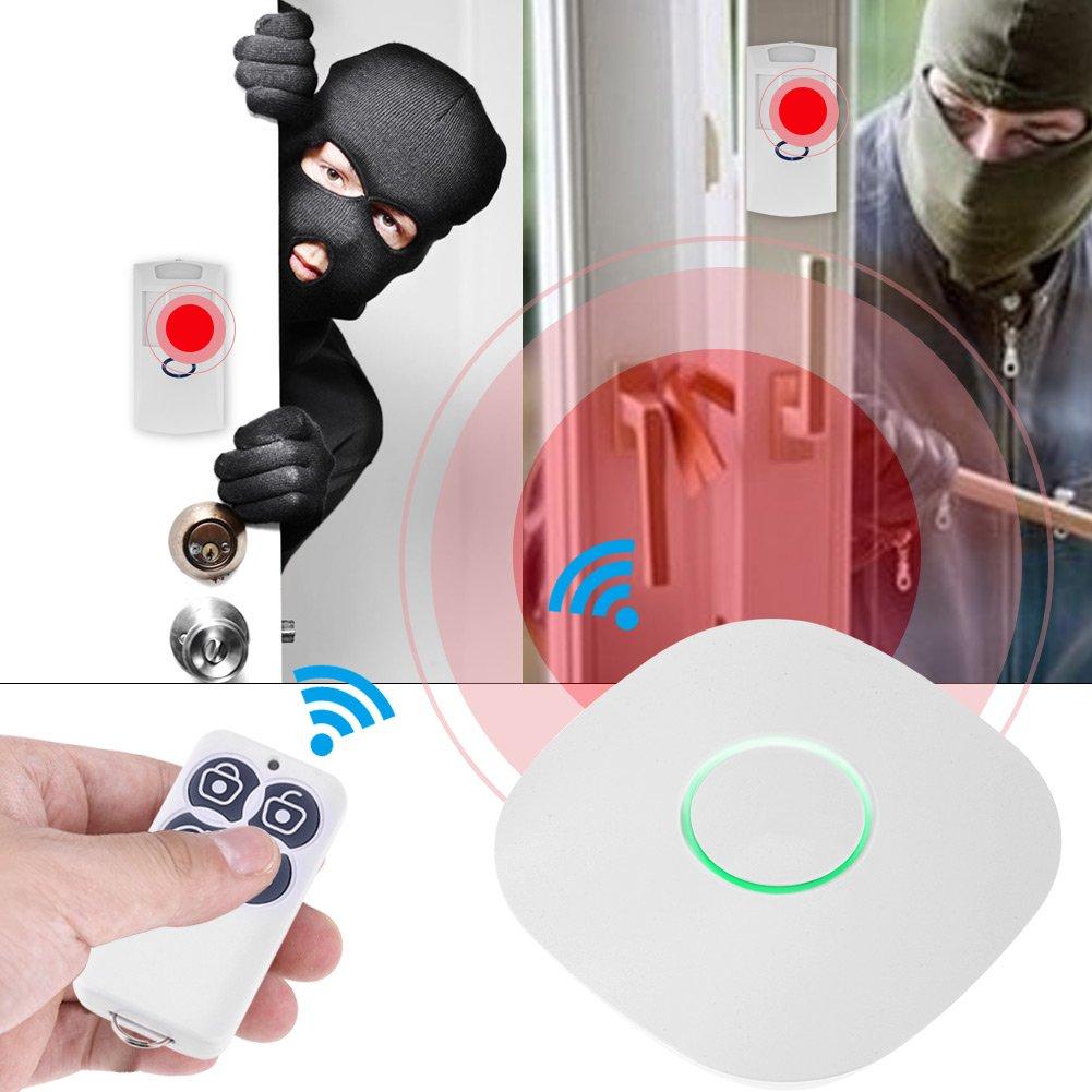 Fdit Timbre Antirrobo Inalámbrico WiFi Sistema de Alarma de ...