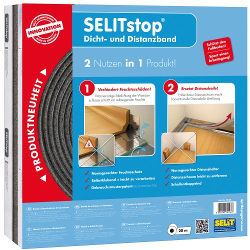 Selitstop Sealant and Separator Tape by Selit