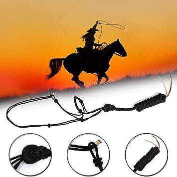 ShopSquare64 - Cuerda de equitación para Caballos (4 Nudos ...
