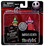 Nightmare Before Christmas Exclusive MiniMates Santa's Elves by Diamond Select