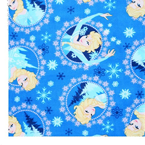 Disney's Frozen ~ Fleece Baby Blanket ~ Satin Edge (ELSA)