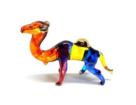 Amazon.com: Hecho a mano Mini Camel Art Glass soplado ...