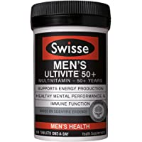 Swisse Ultivite Men's 50+ Multivitamin, 60ct