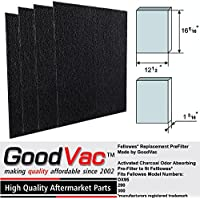 Fellowes AeraMax 300 Odor Absorbing Carbon Pre-Filter Air Purifier Replacement Filter by GoodVac (4)