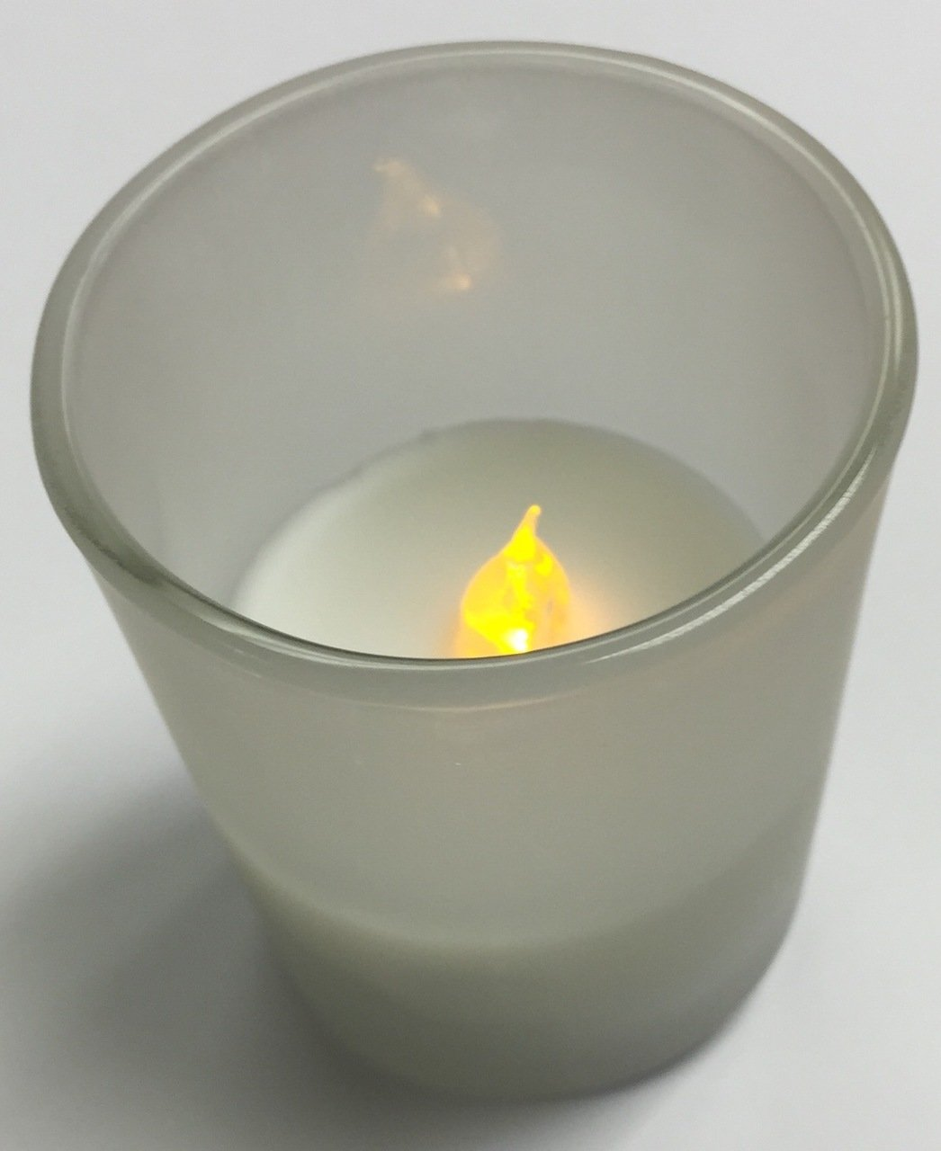2'' LED Votive In Frosted Glass Bulk Value Pack of 72