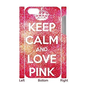 ALICASE Design Diy hard Case Love Pink For Iphone 4/4s [Pattern-1]