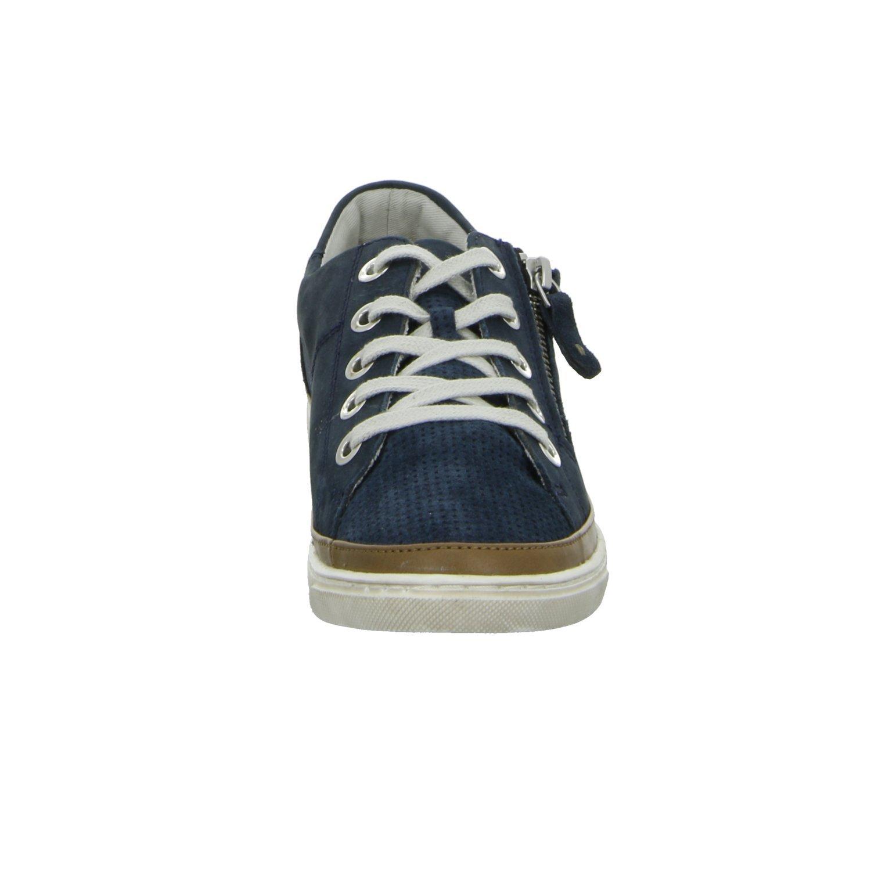 BOXX 61.286 Damen Damen 61.286 Sneaker Halbschuh Reißverschluss Blau - 0f2702