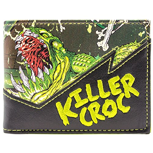 DC Comics Forever Evil Killer Croc Grün Portemonnaie Geldbörse