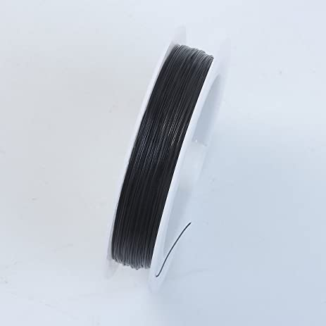 Amazon black color wire 26 gauge thickness 038mm wb 101 26g black color wire 26 gaugethickness 038mm wb 101 26g greentooth Image collections