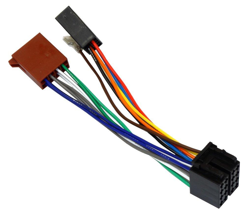 Aerzetix Prolunga per connettore ISO autoradio, 20 cm 20cm Générique 3800946602620