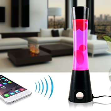 Lava Lamp Bluetooth Speaker Cool Debonair Bluetooth Lava Lamp With Built In Stereo Speakers For All