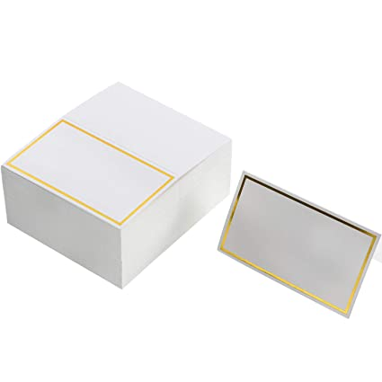 amazon com chengu 100 pieces place cards table name tent place
