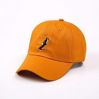 Berretto da Baseball Selvaggio da Uomo Berretto da Baseball Maschio Autunno e Inverno Cappello Berretto da Baseball Moda per Il Tempo Libero Outdoor Cappello da Sole Gioventù, Arancione, a1