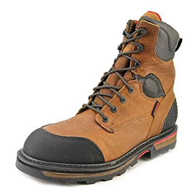 5f75c6f4b83 Rocky Men's Elements Dirt Waterproof Work Boot Round Toe - Rkyk075