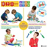 ETI Toys - Kit of Screws for Boys and Girls 92 Piece set for building Engineering designs! Great for Learning, Developing and Having Fun. Engineer your design Today!