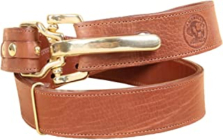product image for Col. Littleton Men's Genuine American Bison Adjustable Belt with Cinch Buckle
