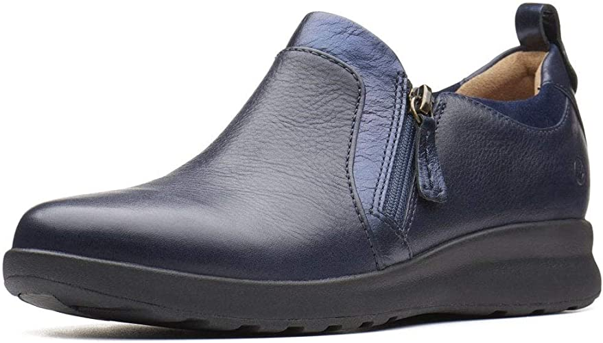 Astronave proteccion campo  Clarks Women's Un Adorn Zip Loafers: Amazon.co.uk: Shoes & Bags