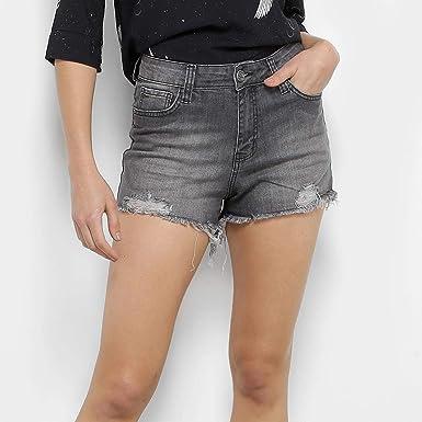 029a7e7d0 Shorts Jeans Coca-cola Hot Pants Feminino - Preto - 38: Amazon.com ...