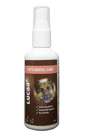 LUCAA+ Limpiador para Dientes 100ml   Higiene Dental   Mascotas/Perros/Gatos   Con