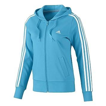 veste adidas bleu ciel femme
