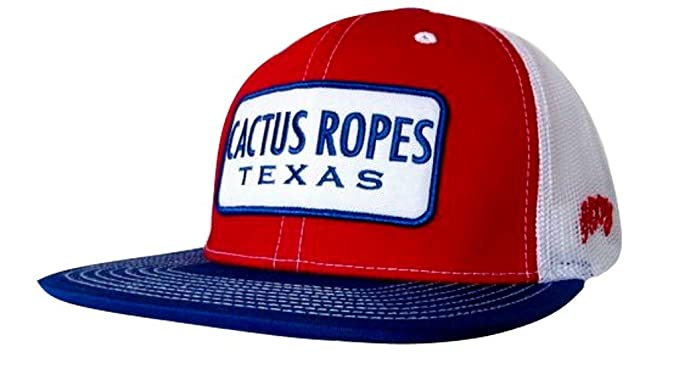 Hooey Hat - Cactus Ropes Trucker - Red White Blue at Amazon Men s ... b503602e047