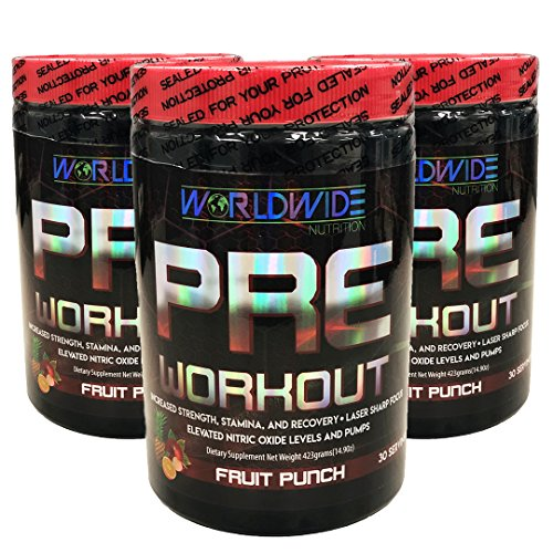 Worldwide Nutrition Sport Line Pre Workout 30 Servings