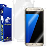 ArmorSuit MilitaryShield - Samsung Galaxy S7 Edge Screen Protector [Full Screen Coverage] + Full Body Skin Protector Anti-Bubble & Extreme Clarity HD Shield
