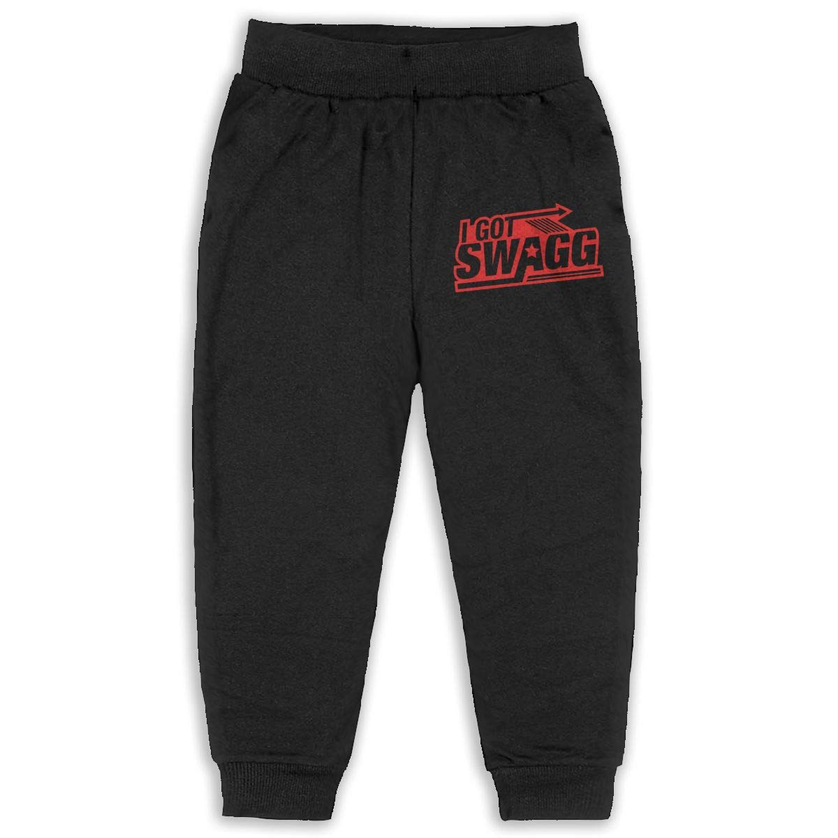 Cqelng Oii I Got Swagg 2-6T Boys Active Jogger Soft Pant