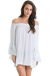 4264664f244 An Elan Pretty Cute Off Shoulder Top Long Sleeve Big Ruffle Top ...