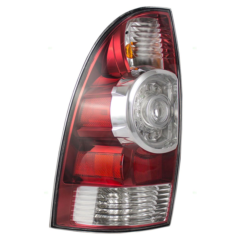 Drivers Taillight Tail Lamp with LED Center Lens Replacement for Toyota Tacoma Pickup Truck 8156004160 Eagle Eyes Lights 4333006602