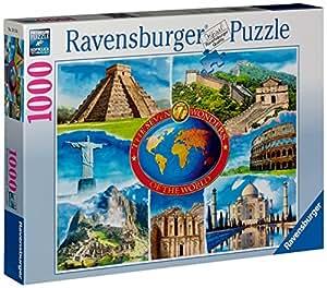 Ravensburger 19116 7 maravillas del mundo - Puzzle (1000 piezas)