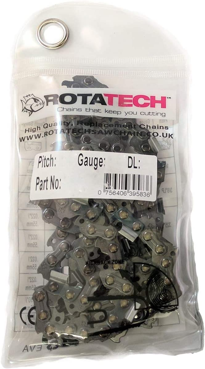 Rotatech Genuine Chainsaw Chain .325 1.5mm 78 Drive Links Equivalent to 21LPX078E