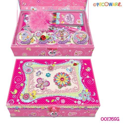 PECO Pecoware Secret Garden Trinket Box with Accessories amp Lock