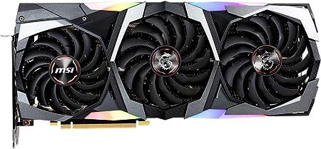 MSI GeForce RTX 2080 GAMING X TRIO - Tarjeta gráfica Enthusiast (PCI-E 3.0, Zero FROZR, Torx FAN 3.0, 8 GB GDDR6, 256-bit, 7000 Mhz Memory Clock ...