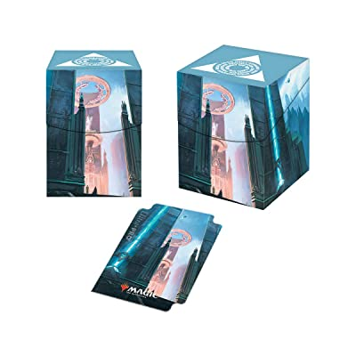Magic: The Gathering - Guilds of Ravnica Azorius Senate PRO-100+ Deck Box: Toys & Games