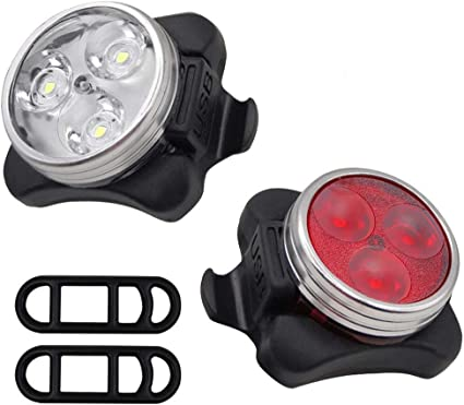 Bicycle LED Rear Light Super Bright Bike Tail Lamp Cycling Flashing Waterproof