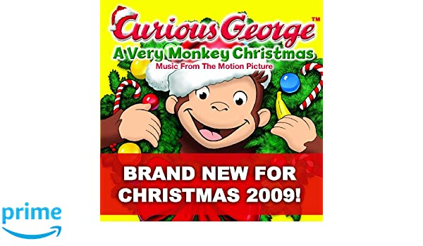 Curious George: A Very Monkey Christmas: Various Artists: Amazon ...