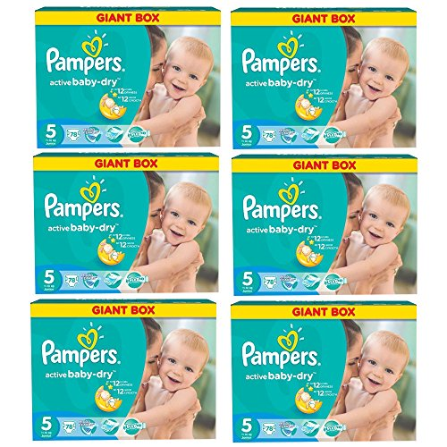 Pampers Windeln Active Baby Dry Junior Gr.