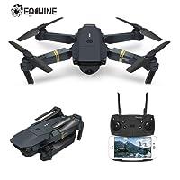 Drone pliable quadcopter, EACHINE E58 FPV WiFi Drone avec caméra 2.0MP