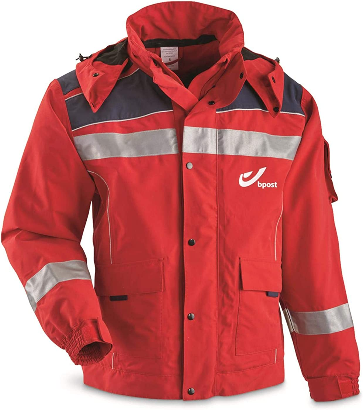 Surplus Belgian Postal Mail Carriers Gore-TEX Jacket New