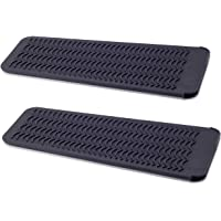 ZAXOP 2 Pack Heat Resistant Silicone Mat Pouch for Flat Iron, Curling Iron,Hair Straightener,Hair Curling Wands,Hot Hair…