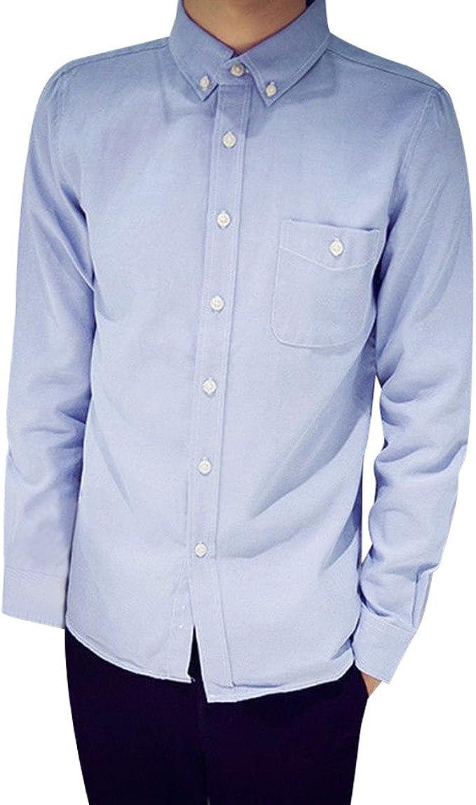 Rawdah_Camisas De Hombre Camisas De Hombre De Vestir Camisas De Hombre Blancas Camisas De Hombre Talla Grande Camisas Hombre Slim Camisas Hombre Tallas Grandes Camisas: Amazon.es: Ropa y accesorios