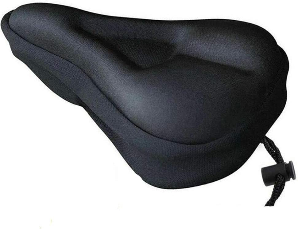 Mountain Bike Comfort Soft Gel Pad Comfy Cushion Saddle Seat Cover Bicycle-Cycle