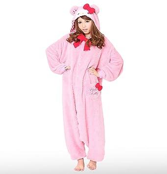 6948df6d7 Japan Official Sazac Sanrio Hello Kitty Pink Teddy Bear Onesie ...