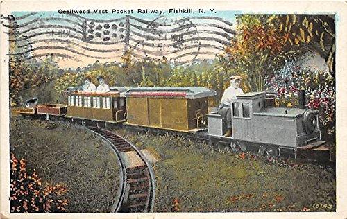 Railways Pocket - Cecilwood Vest Pocket Railway Fishkill, New York, NY, USA Postcard Post Card