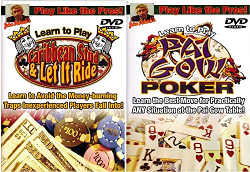 Play Like Pros! Learn Caribbean Stud / Let It Ride / Pai Gow Poker Bundle (2 DVD ()
